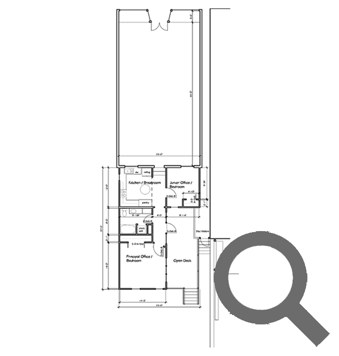 Woodville Office and Live-work Rentals Floor Plan | Woodville Lofts & Studios, Mississippi, MS