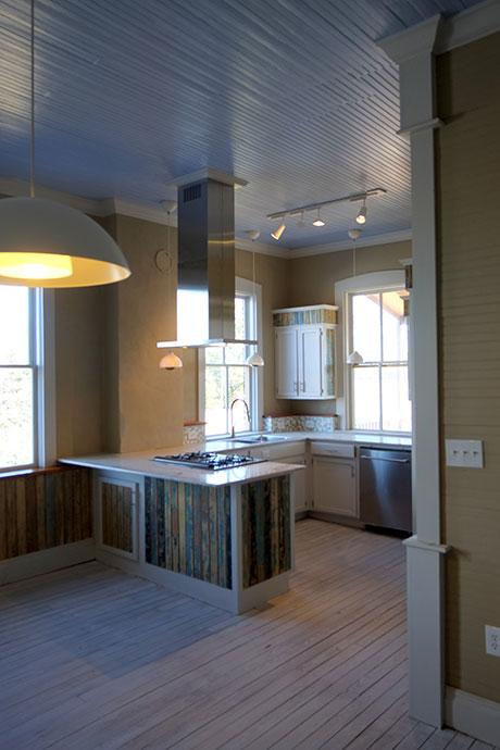 Apartment C Kitchen, Woodville Apartment Rental | Woodville Lofts & Studios, Mississippi, MS