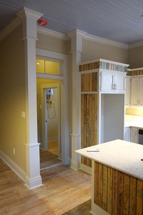 Apartment D Kitchen, Woodville Apartment Rental | Woodville Lofts & Studios, Mississippi, MS