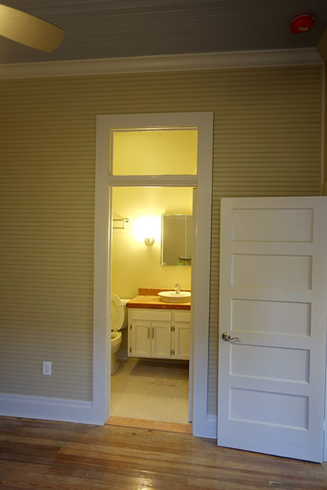 Apartment D Bathroom, Woodville Apartment Rental | Woodville Lofts & Studios, Mississippi, MS
