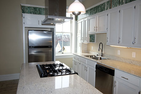 Apartment E Kitchen, Woodville Apartment Rental | Woodville Lofts & Studios, Mississippi, MS