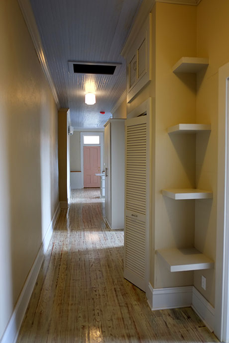 Apartment E Hallway, Woodville Apartment Rental | Woodville Lofts & Studios, Mississippi, MS