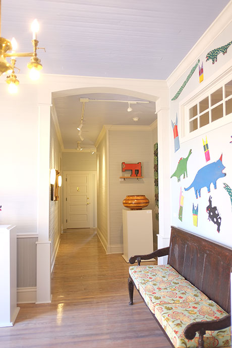 Apartment E Entrance, Woodville Apartment Rental | Woodville Lofts & Studios, Mississippi, MS