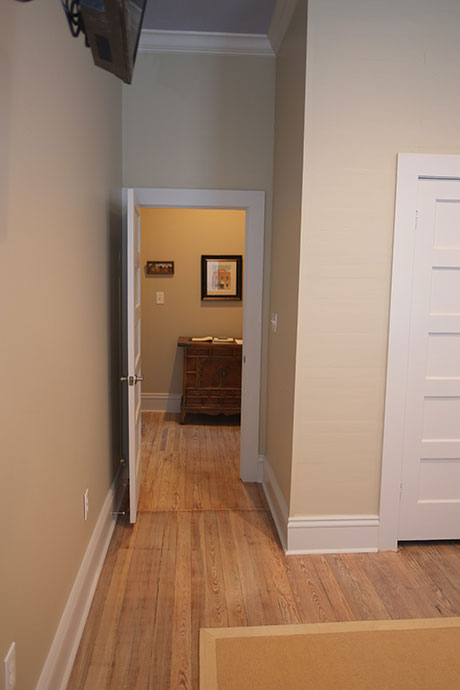 Courthouse Suite - Fully Equipped and Furnished Overnight Stays, Hallway | Woodville Lofts & Studios, Mississippi, MS